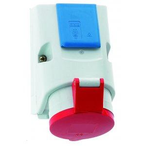 Zásuvka nástěnná kombinovaná s ochranným kolíkem